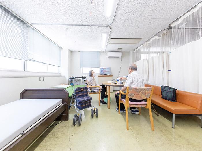 施設・設備も充実 ゆったりとした空間でお過ごしいただけます。